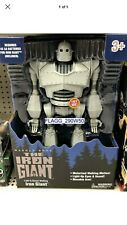 Warner Bros. Light & Sound Walking *The Iron Giant* Robot Moveable Arm 2020 New