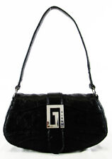 GUESS Black Faux Leather Small Handbag