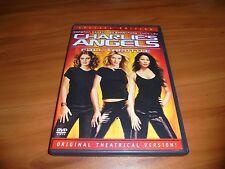 Charlie's Angels Full Throttle (DVD, 2003 Full Frame) Cameron Diaz Used Charlies