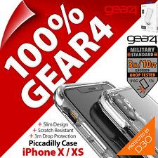 Gear4 Piccadilly Avancé D3O Impact Protection Étui pour Apple IPHONE X / XS /
