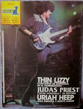 POPULAR 1  ESPECIAL - THIN LIZZY /JUDAS PRIEST/URIAH HEEP(SPANISH MAGAZINE)