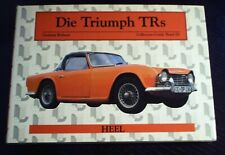 "Graham Robson ""Die Triumph TRs"" Heel Collector's Guide Bd.3"