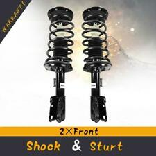 LSAILON 2 pcs Front Struts Shocks Absorbers Replacement for 2007-2009 Chevy Equinox,2007-2009 Pontiac Torrent,2008-2009 Saturn Vue 335072 335073
