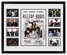 HILLTOP HOODS SUFFA PRESSURE DJ DEBRIS SIGNED LIMITED EDITION FRAMED MEMORABILIA