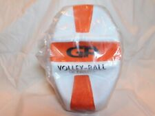 Glowproducts.com Glow in the dark Volleyball 18 panel Orange/white New!