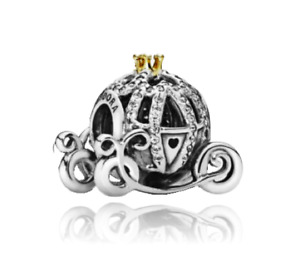 Cinderella Carriage Charms Findings Antique Silver Charms Doublesided Charms 3-D Pumpkin Carriage Charms 20pcs Pumpkin Carriage Charms
