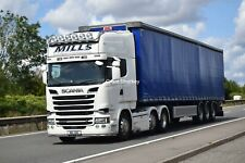 Truck Photos Irish Mills International Transport Scania R580 V8 MIL 616