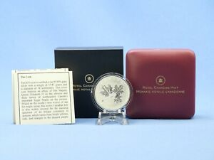 Kanada 10 Dollars 2011 Maple Leaf Forever 1/2 oz 999 Silber / Ag in OVP