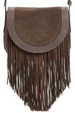 Womans Frye Ray Fringe Leather Saddle handbag/purse   MSRP $388  NEW