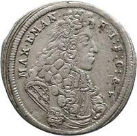 Bayern 15 Kreuzer 1691 Münze Coin (U3)