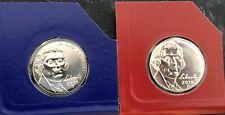 2016 P D Jefferson Nickel Set 1 P & 1 D Brilliant Uncirculated Mint Set Coin's