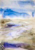 Malerei PAINTING zeichnung Margarita Bonke Landscape Landschaft akt Aquarell goa