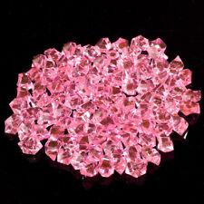 100pcs Acrylic Crystal Gem Stone Ice Rocks Aquarium Wedding Party Vase Adornment
