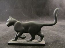 Collectible Franklin Mint Curio Cabinet Boot Scraper Cat No Box