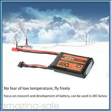 JST VOK Lipo Battery 2S 7.4V 480mAh 25C Universal For RC Racing Drone