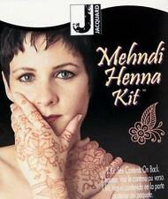 Mehndi Henna Kit Jacquard All inclusive  create non-permanant body art naturally