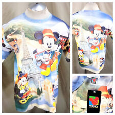 "New! Vintage 90's Disney's Mickey Mouse (Large) ""Tourist Mickey"" Graphic T-Shirt"