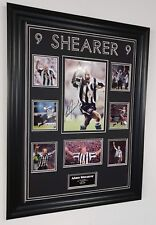 Alan Shearer del Newcastle Firmado Foto Pantalla De Foto Autografiada