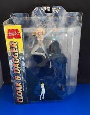 Cloak & Dagger Marvel Diamond Select Two Action Figure Set Comic Toy Biz