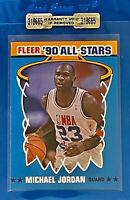 1990 Fleer All-Stars Michael Jordan #5 GEM MINT Quality Fast Service 100%🏆