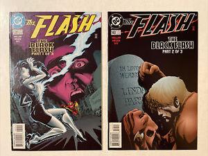 Flash #139-140 set NM 1st Black Flash DC Comics 1998 Millar/Mhan