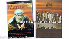 2 Pack The Visual Bible - Gospel Of Acts & The Book Of Matthew DVD NEW 4-Discs