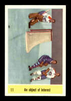 1958 Parkhurst #11 Jacques Plante/George Armstrong IA NM X1686483