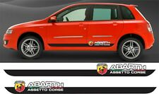 Fiat Stilo Abarth Sporting side stripes decals stickers graphics