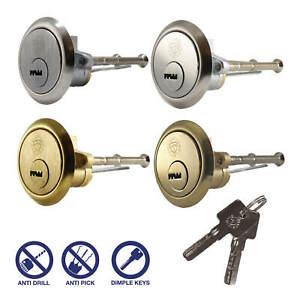 Security 6 Pin Rim Cylinder   SUPERIOR   Door Lock Night Latch Yale ERA Fitment