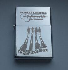 DIRTY HARRY - chrome petrol lighter [Cd:19.mc-40-lP.] mini poster Clint Eastwood
