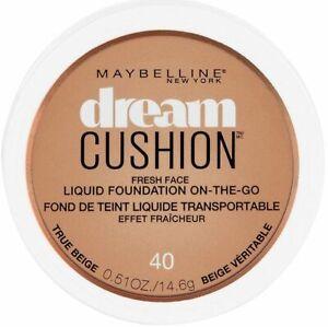 Maybelline New York Dream Cushion Fresh Face Liquid Foundation 40 True Beige