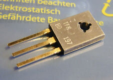 4x bd197 transistor NPN 45v 6a 65w, TFK