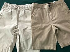 2 Pair of Boys Children's Place Khaki Shorts size 10 New with tags Camp Uniform