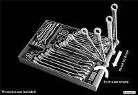 Tool Sorter Wrench Organizer Black