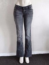 Fox Racing Women's Propane Boot Cut Jeans - Grey Charcoal sz 1/25