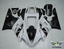 NT White Black Injection Plastic Fairing Fit for Yamaha YZF R1 2000-2001 y011