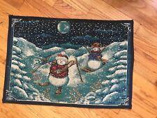 Vintage Christmas Rug