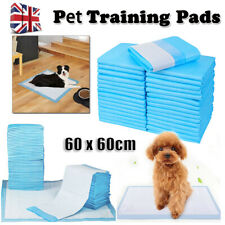 More details for dog puppy training pads heavy duty floor toilet mats wee pee pet cat pads 60x60