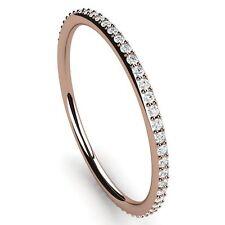 Eternity Rose Gold SI2 Fine Diamond Rings