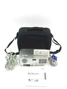 NEC NP60 DLP Projector Bundle with Cables, Remote and Case