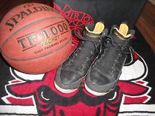 Nike Air Jordan 9 IX retro, taille 44, Black/Citrus-White, 302370 - 004, de 2010