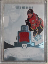13-14 SPX Rookie Materials Sean Monahan-Calgary Flames RC Jersey
