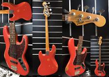 Fender | Road Worn | 60s Jazz-Bass | Fiesta Red | Rosewood | Baujahr 2010 | NOS