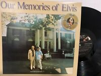 Elvis Presley ‎– Our Memories Of Elvis LP 1979 RCA ‎– AQL1-3279 NM