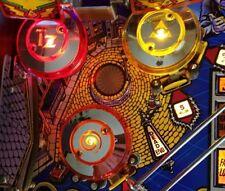 TWILIGHT ZONE CHROME PINBALL POP BUMPER DECALS from METAL-MODS CHROME CAPS