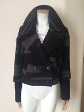 DKNY Boiled Wool Jacket