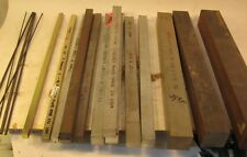 """LOT OF 12"""" KEY STOCK - SIZES RANGE FROM 1/16"""" TO 1 1/2"""" - 19 PIECES"""