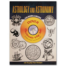 Dover Publications Astrology & Astronomy Electronic Clip Art w. CD-ROM