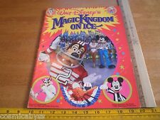 Walt Disney's World On Ice skating program Follies Sport Goofy 1986