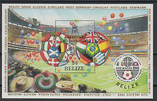 XG-T252 BELIZE - Football, 1986 Mexico World Cup Argentina Winners Ovp MNH Sheet